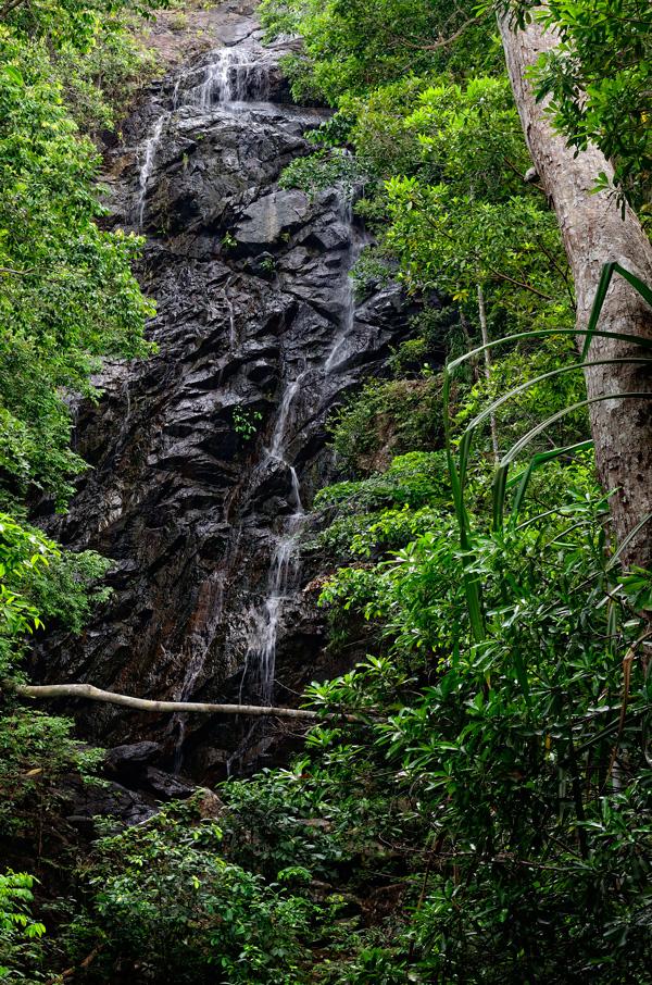 catarata en Ko Pha Ngan