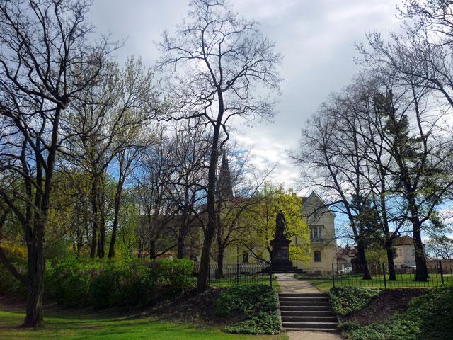 Parque en Praga