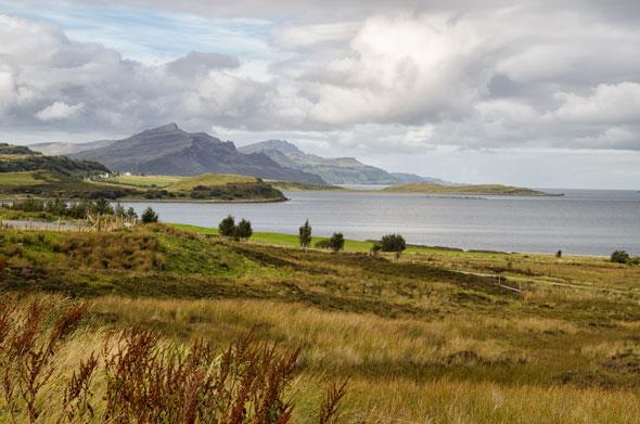 Vistas en la isla de Skye