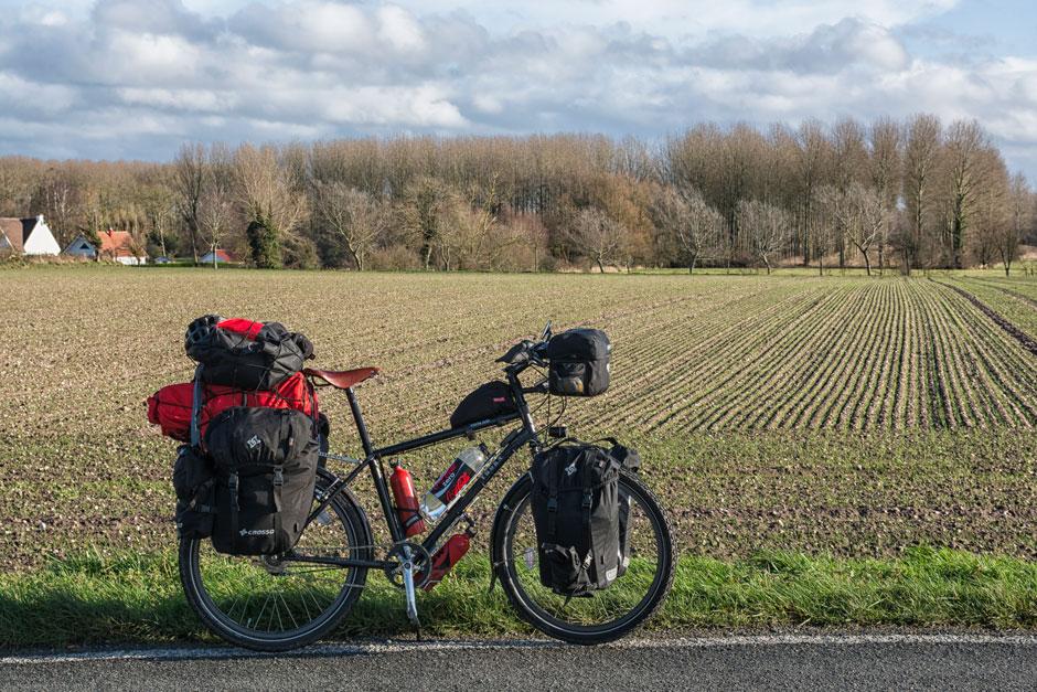 Bienvenida a Francia en bicicleta