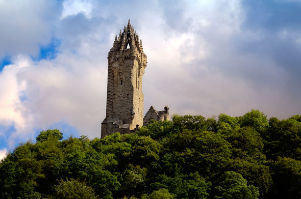 El monumento a William Wallace, Escocia