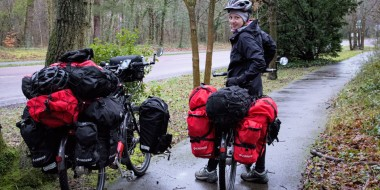Viajar en bicicleta con Warmshowers en Francia
