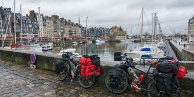 Baja Normandía en bici