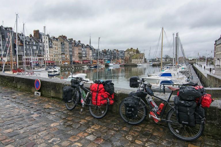 De Honfleur al Monte Saint-Michel en bicicleta