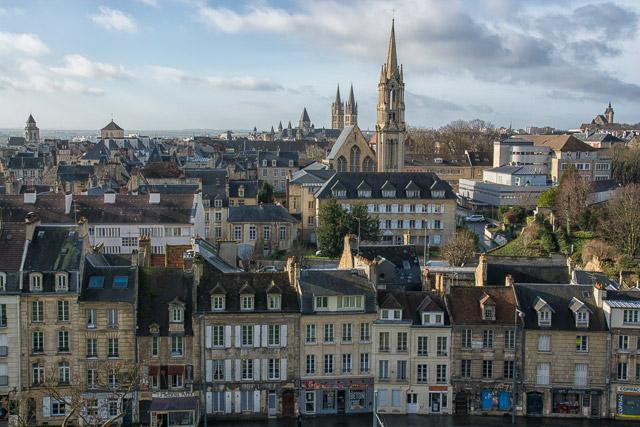 Caen, la ciudad de las 100 iglesias