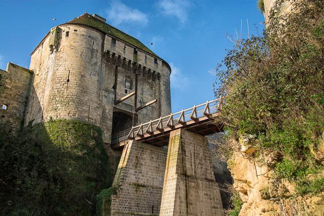 El castillo de Caen