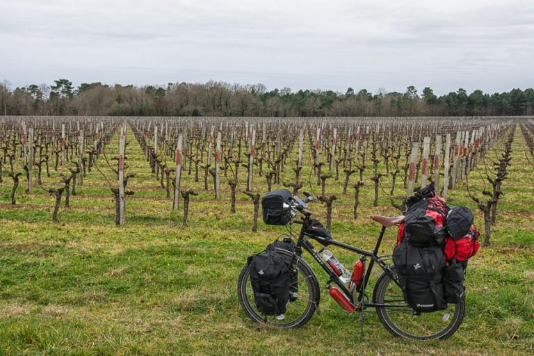 Bajando por los Países de Loira en bici