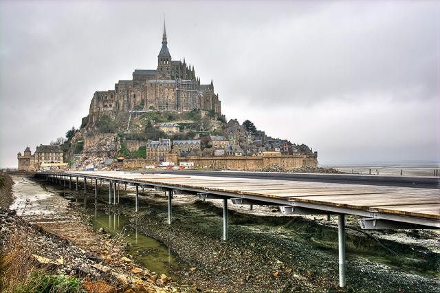 La isla del Monte Saint-Michel