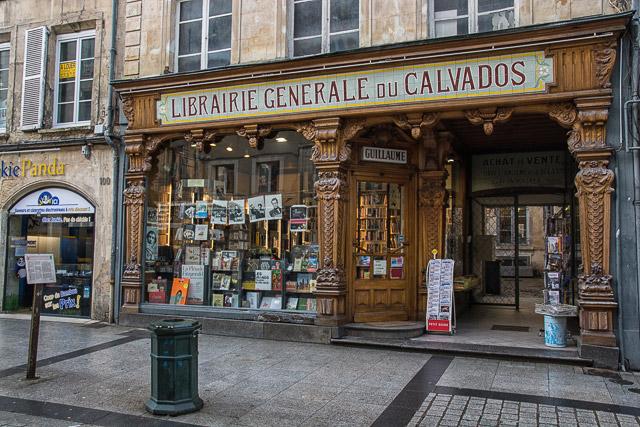 La libreria más antigua de Caen