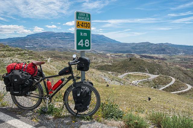 Con la bici por Sierra Nevada