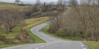 En bici de Bayona a los Pirineos de Navarra