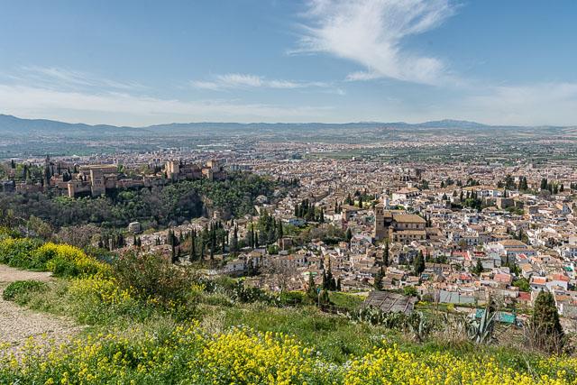 Granada desde el mirador de San Miguel Alto