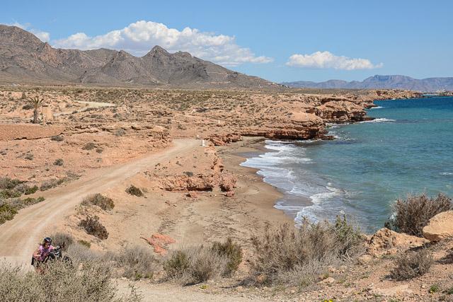 La costa murciana en bicicleta
