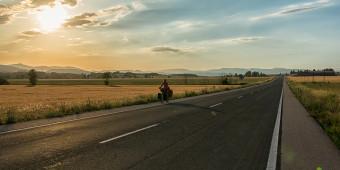 El sentido de un viaje largo y barato en bicicleta