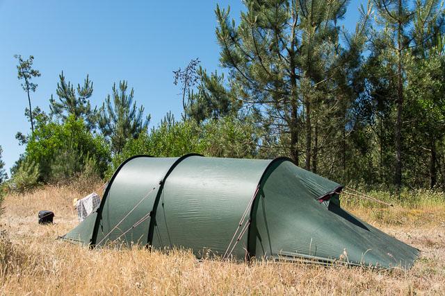Acampada libre en Portugal