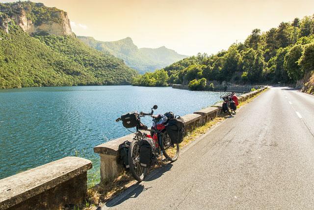 El río Ebro en bicicleta