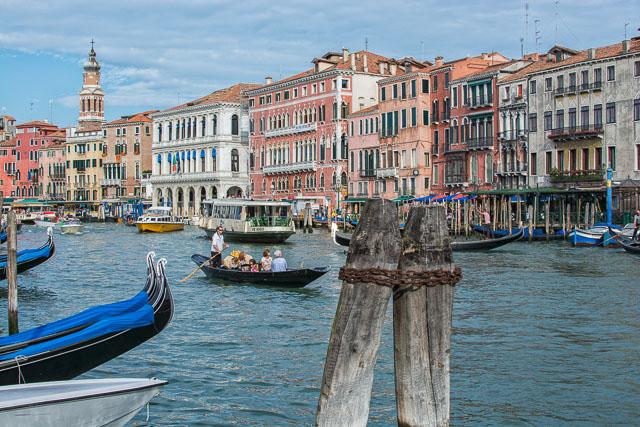 El canal principal de Venecia