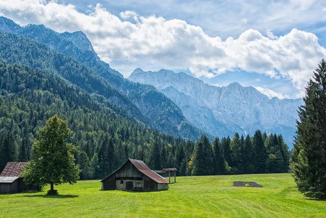 Despertando en las montañas de Eslovenia