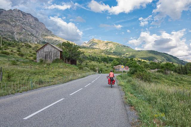 Puerto en bicicleta