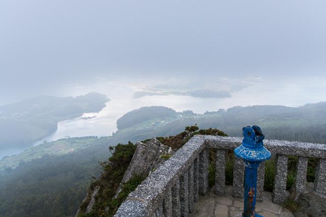 Sobre una nube en Galicia