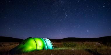Acampando bajo 1000 estrellas en Bosnia