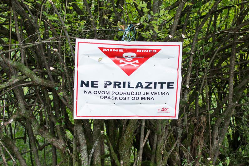 Minas en Croacia