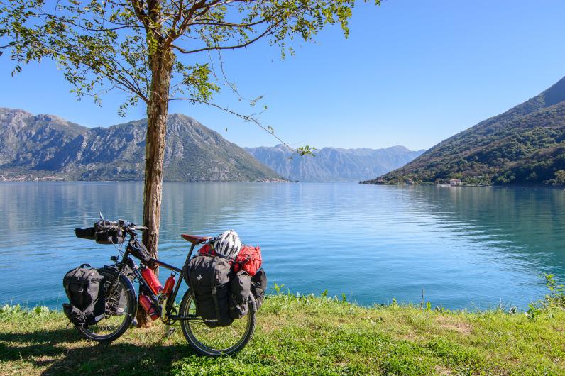Cicloturismo en la Bahía de Kotor, Montenegro