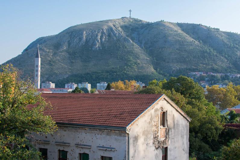 La destrucción de la guerra en Bosnia