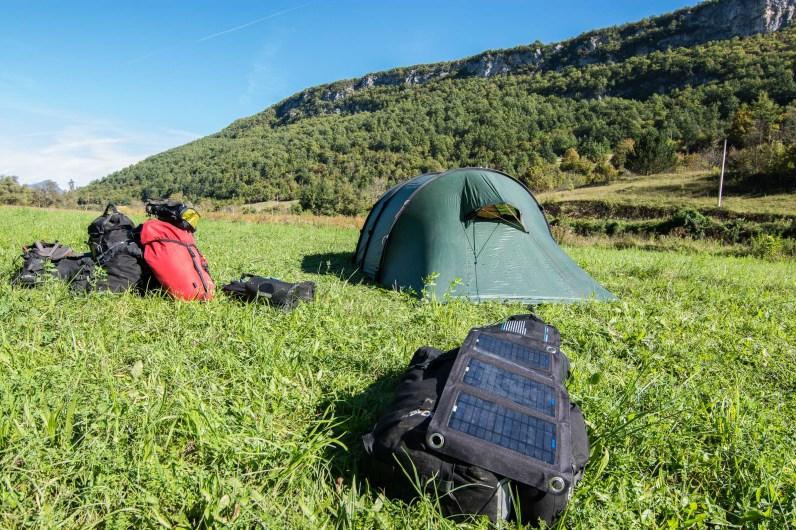 Camping gratis en Bosnia