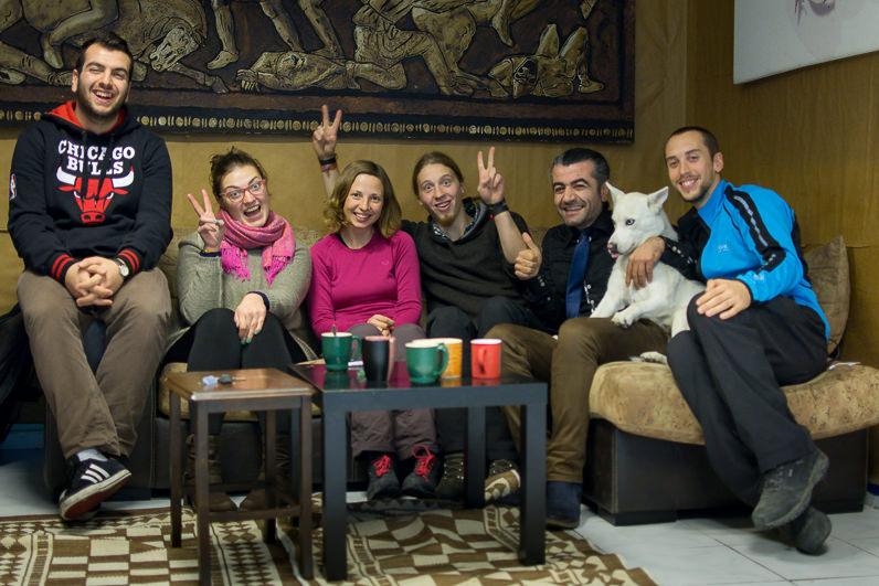 Amigos en Estambul, Turquía