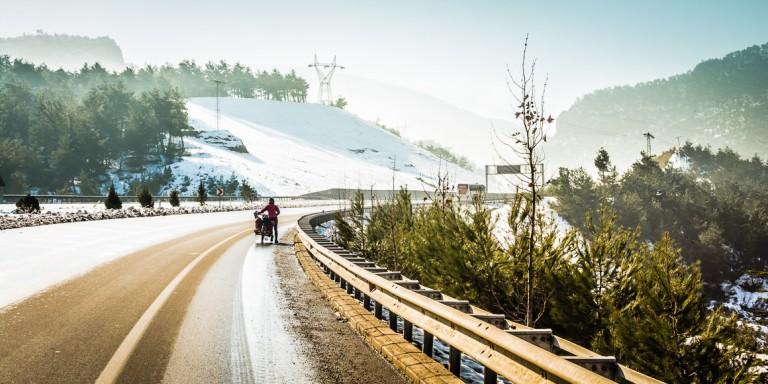 Visa run en Turquía en autostop