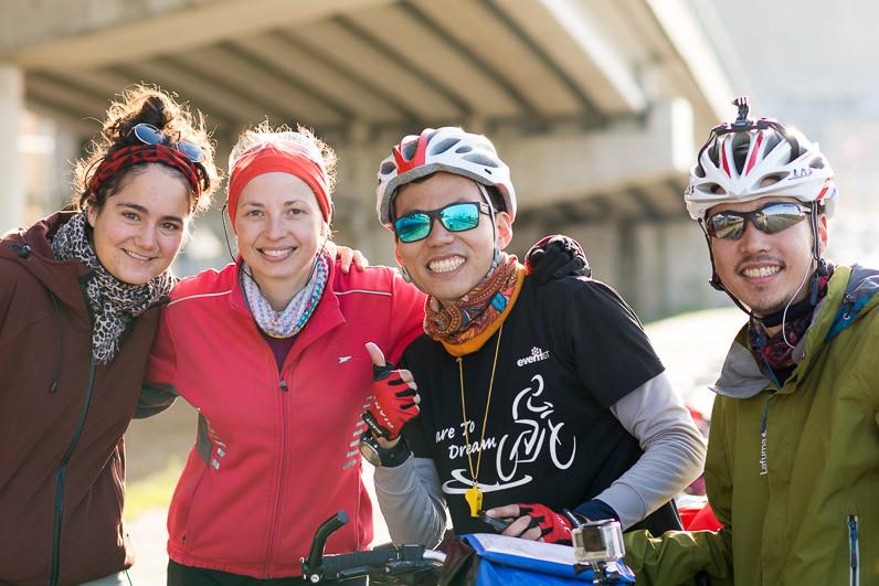 Amigos cicloturistas