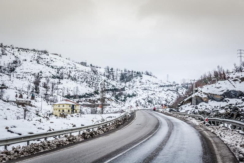 Nevando en Turquia