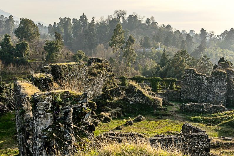 Ruinas cerca de Batumi