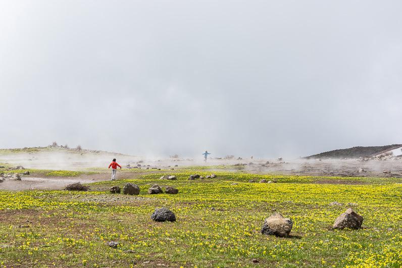 Corriendo entre las nubes