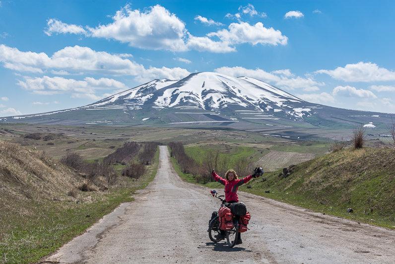 A Erevan en bici