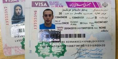 La visa de Irán