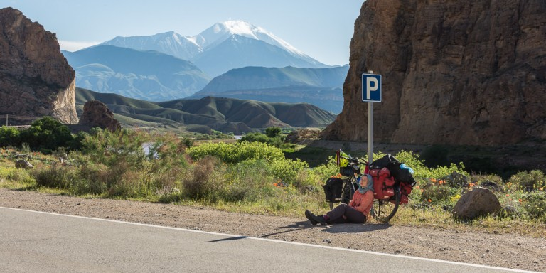 La increíble carretera fronteriza entre Irán y el Caúcaso