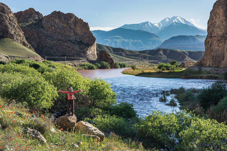 Increíble paisaje en Irán