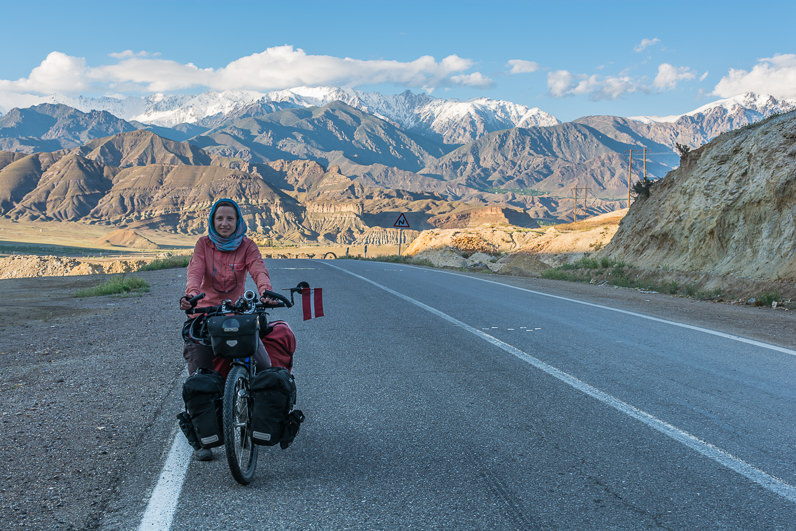 Viajar en bicicleta en Irán