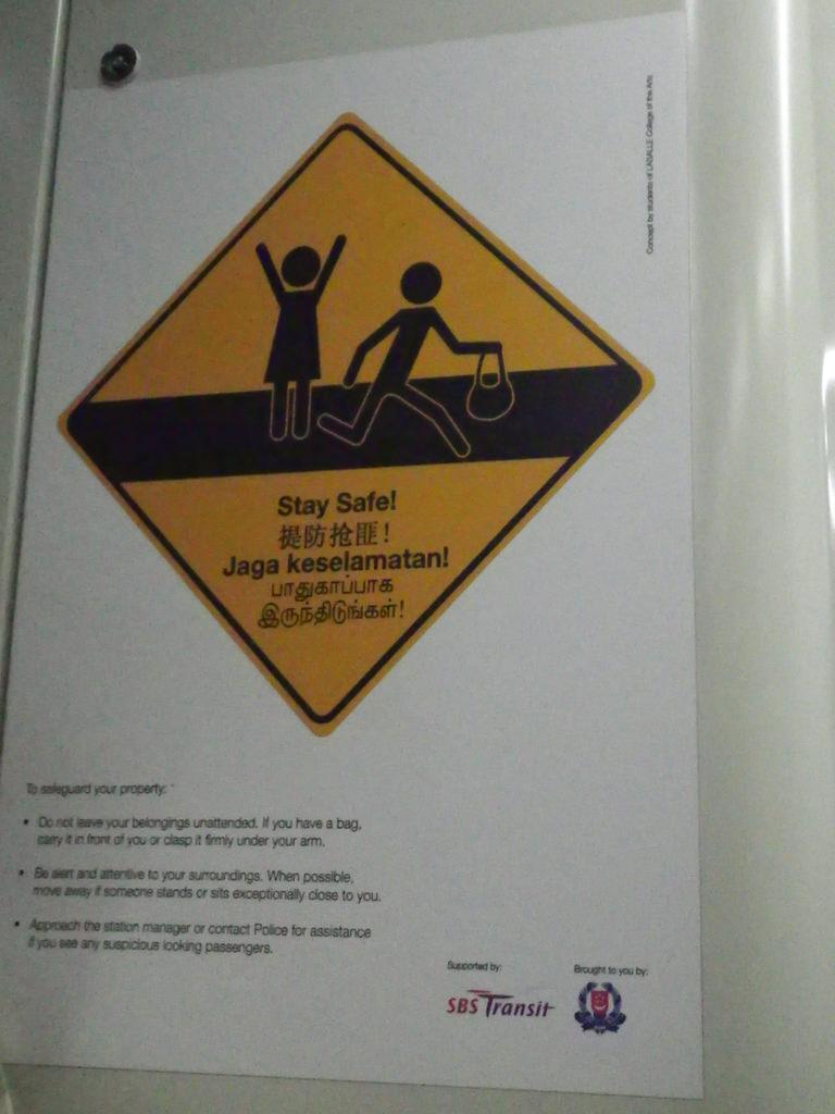 Cuidado con los ladrones