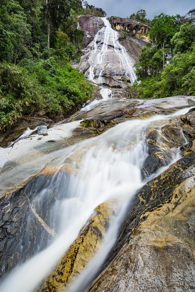 Catarata de Jelawang en Malasia