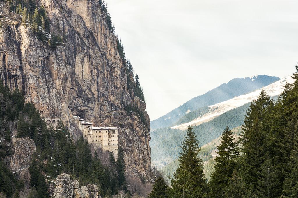El Monasterio de Sumela en Turquia