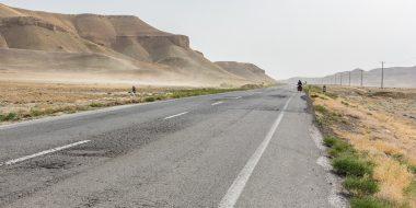 Irán en bicicleta