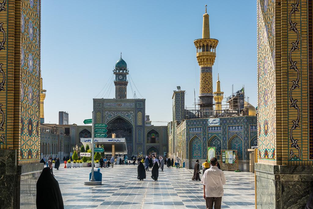 La mezquita de Imam Reza en Mashhad