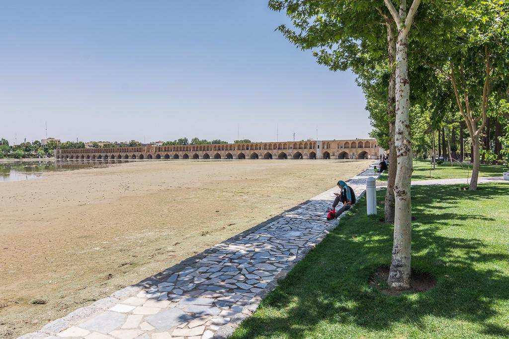 Puente en Isfahán