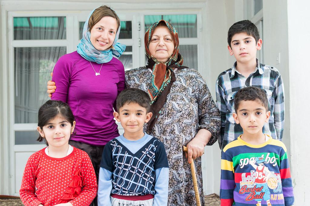 Encantadora familia iraní
