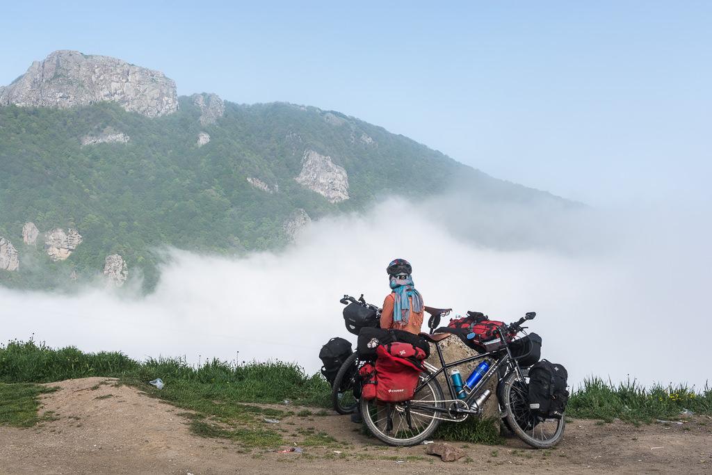 Pedaleando sobre las nubes en Irán