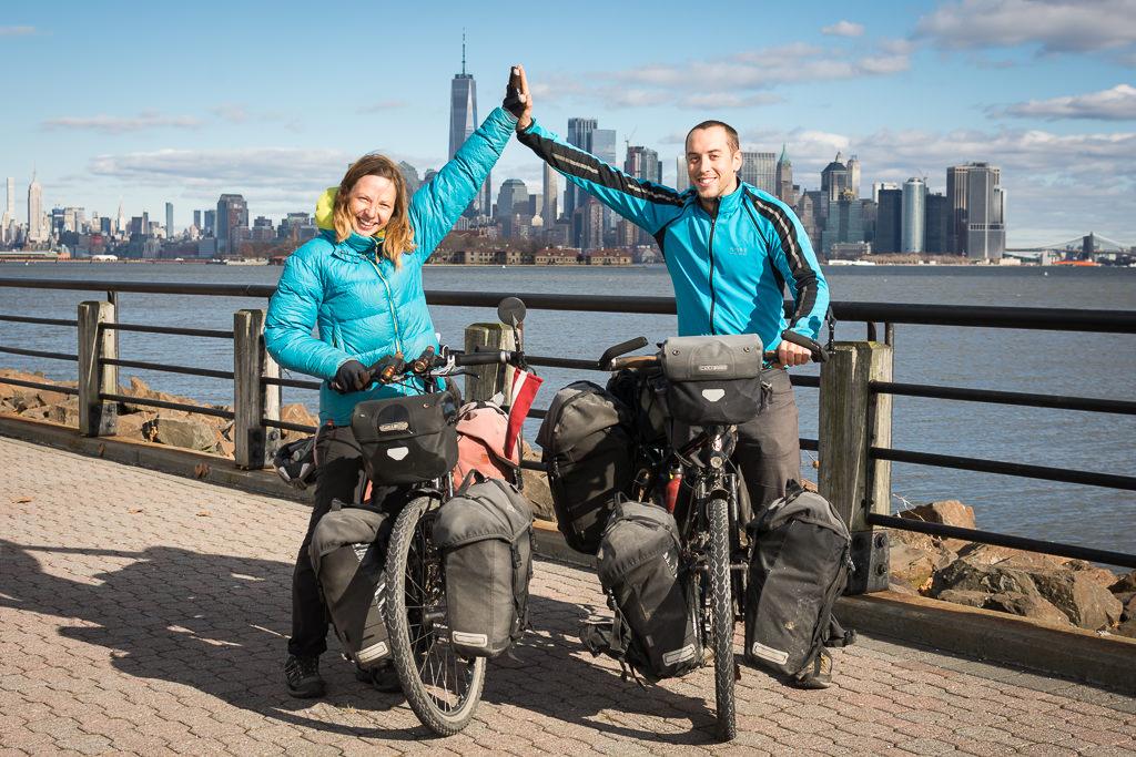 ¡Lo conseguimos! Vuelta al mundo en bicicleta completada con final en Nueva York