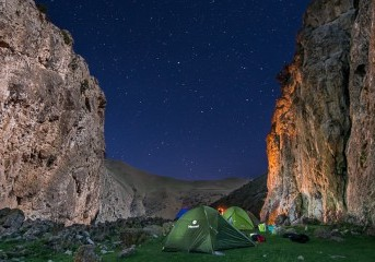 Camping bajo las estrellas